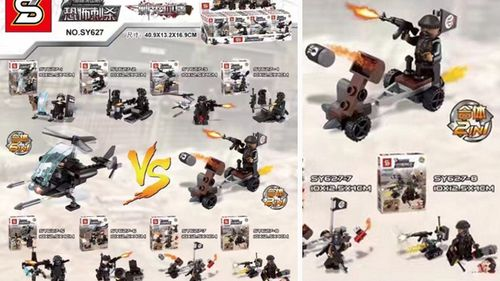 ISIS-themed fake Lego sets exported globally from China