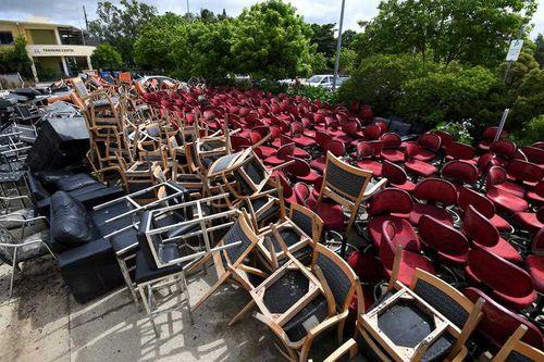 Schools are having to dump furniture