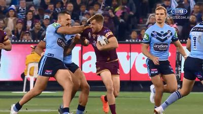 Queensland fullback Billy Slater biggest threat to NSW wrapping up Origin series in Sydney: Joey