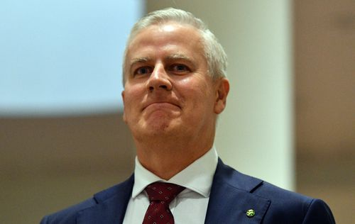 Michael McCormack has stepped out for the first time as leader of the Nationals Party. (AAP)