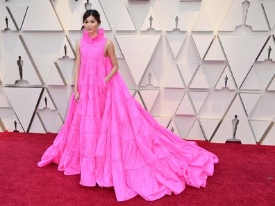 Crazy Rich Asians star Gemma Chan has revealed what she snuck into the Oscars