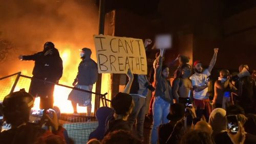 US riots over George Floyd death May 30