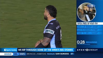 Sharks back Fifita's aggression if it leads to NRL premiership