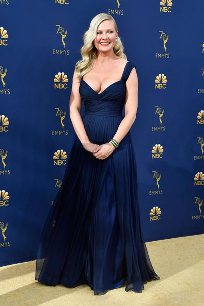 Actress Kirsten Dunst at the 70th Annual Emmy Awards