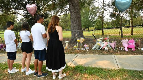 Loved ones and family members paid their respects at the crash site today.