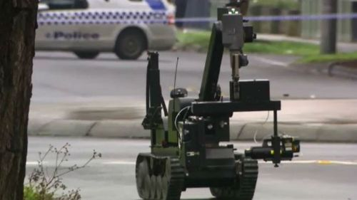 Police give area 'all clear' after suspicious device found north of Geelong