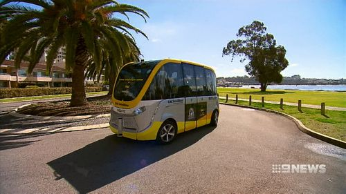 The cars will follow the Intellibus which is already operating in Perth.
