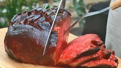 Watermelon ham
