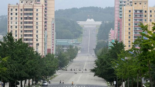 A file photo of Kaesong, North Korea from July 23, 2019.