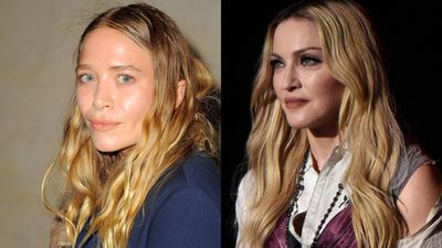Mary-Kate Olsen and Madonna