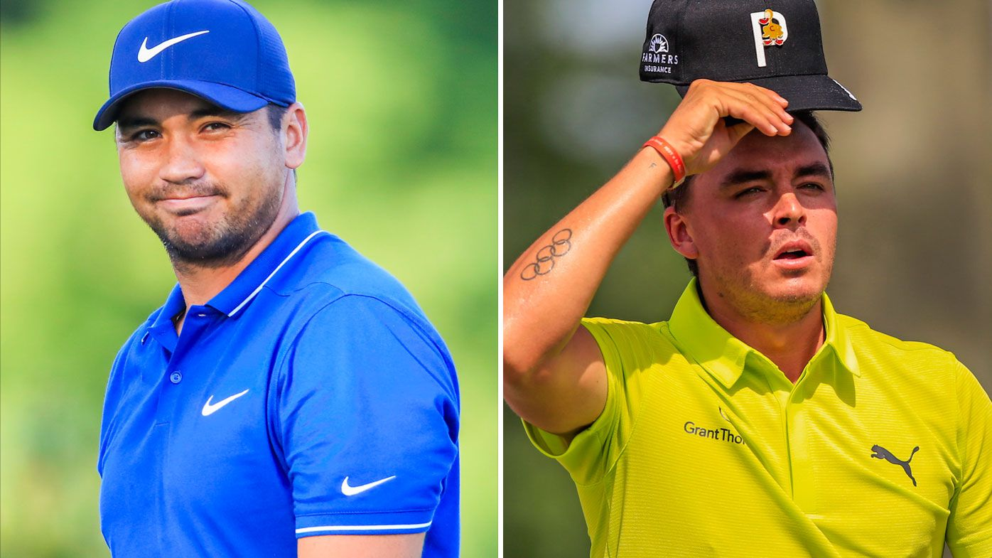 Emotional day at PGA Championship with tributes from Jason Day and Rickie Fowler for Jarrod Lyle