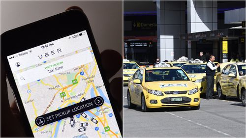 Uber and the taxi industry could face off in court if a class action proceeds. (File images)