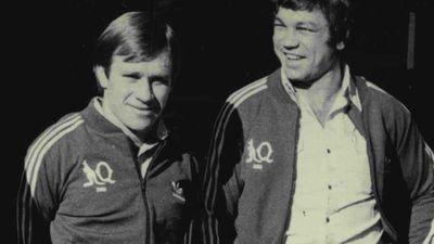 John Lang (left)