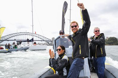 Prince Harry Meghan Markle Invictus Games Sydney