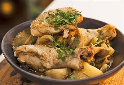 Zoe Bingley-Pullin's chicken cassoulet