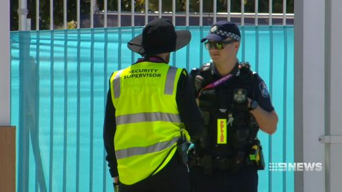 One group of security guards were housed one hour away from the Commonwealth Games venues. (9NEWS)