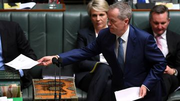 Bill Shorten proves he is not a dual citizen in parliament