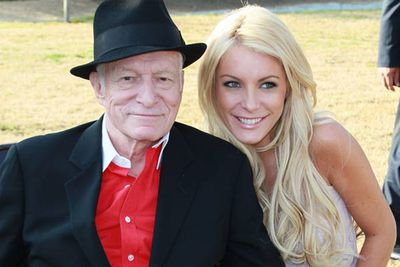 Hugh Hefner isn't exactly a one-bunny kinda guy, but he was ready to tie the knot with Playboy youngster Crystal Harris before she dumped him the day before the wedding and ran off with Dr Phil's son. Yep, this is real life, not a soap opera!