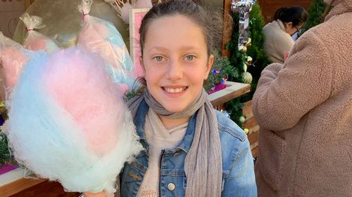 Eight-year-old Sienna Abdallah and her siblings Angelina, 12, and Antony, 13, and their cousin Veronique Sakr (pictured), 11, died while on their way to buy ice-creams at a local supermarket.