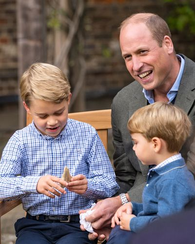Sir David Attenborough meets Prince William and family