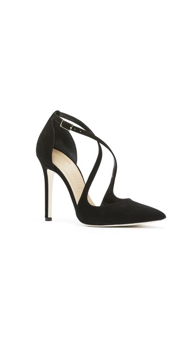 <p>Pumps ramp up the glamour on a pencil skirt or trousers.</p><p>Heels, $550, Scanlan Theodore</p>