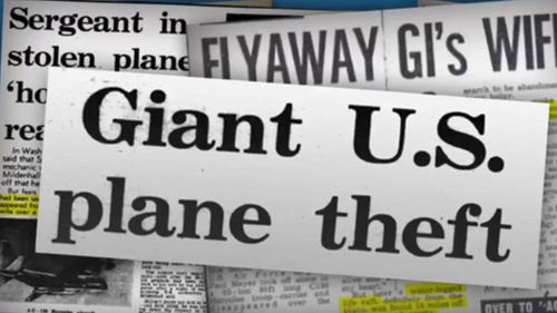 How the UK and US press reported the plane's theft and crash in 1969. (Image: Deeper Dorset)