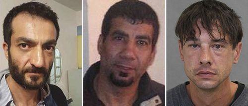 Victims Selim Essen, 44, Sorush Mahmudi, 50 and Dean Lisowick