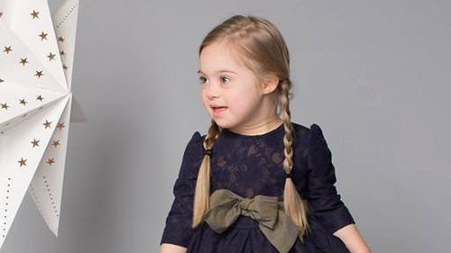 Meet the four-year-old model with Down syndrome melting hearts in fashion campaign