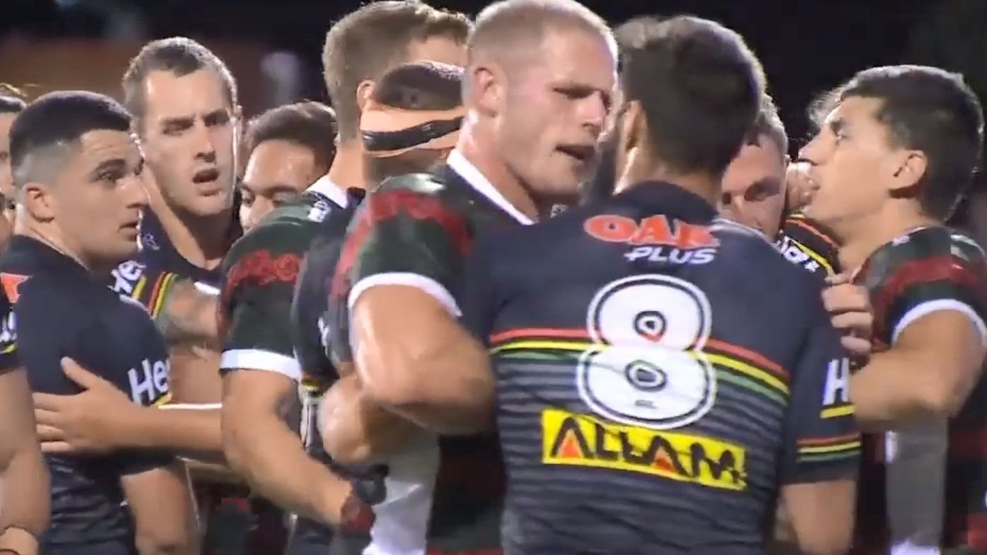 NRL: Frustrations boil over as Penrith fall to South Sydney for fifth loss of the season
