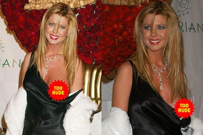 One of the most infamous nip slips ever! Tara Reid let is all hang out at P.Diddy's 35th birthday bash in 2004. <br/><br/>