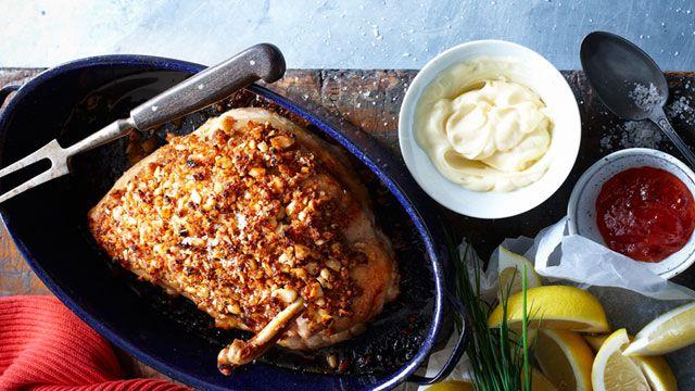 Chilli crumbed turkey supreme