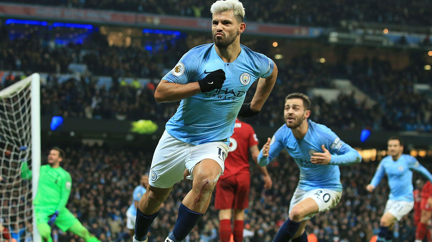 Manchester City end Liverpool's unbeaten run in EPL