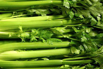 Celery: 2.37g sugar per 100g