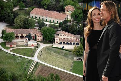 There's no place like... Nice?!<br/><br/>Brad and Ange signed a three-year lease on a $70 million chateau on the French Riviera in 2008! Not jealous at all... <br/><br/>Source: Getty