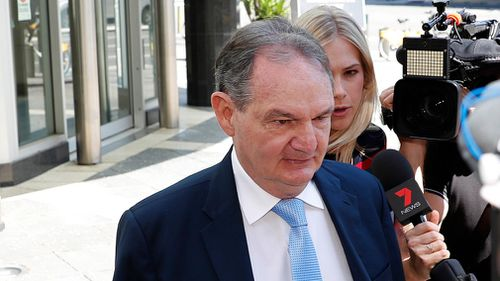 Former Ipswich mayor Paul Pisasale is also facing fraud charges. (AAP)