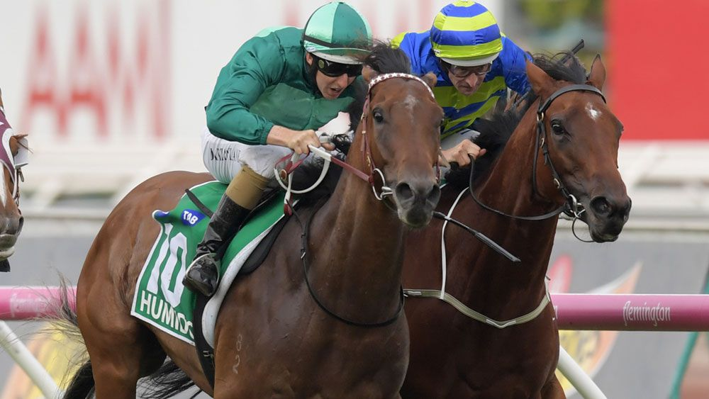 Humidor did the job for Darren Weir in the Australia Cup. (AAP)