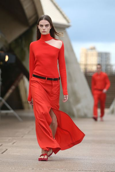 Dion Lee, Resort '18 at the Sydney Opera House for Mercedes-Benz Fashion Week Australia