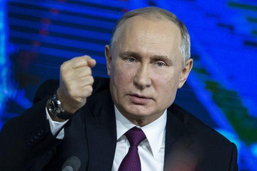 "Russian President Vladimir Putin has ""a gambler's mentality""."