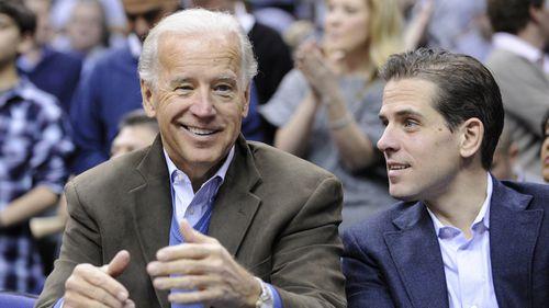Joe and Hunter Biden.