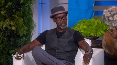 Don Cheadle discusses bombing in a stand up show