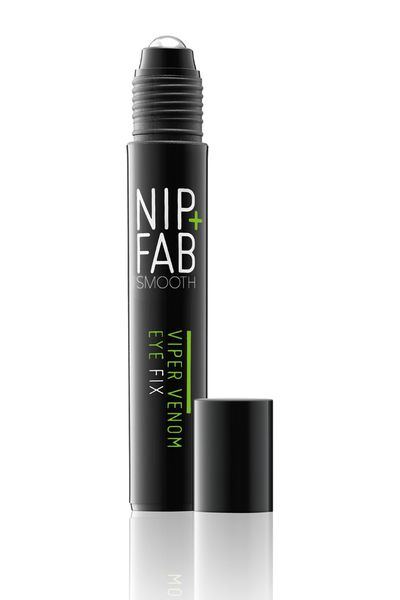 "<a href=""https://www.priceline.com.au/brand/nipfab/nip-fab-viper-venom-eye-fix-15-ml"" target=""_blank"">Viper Venom Eye Fox, $32.99, Nip + Fab</a>"