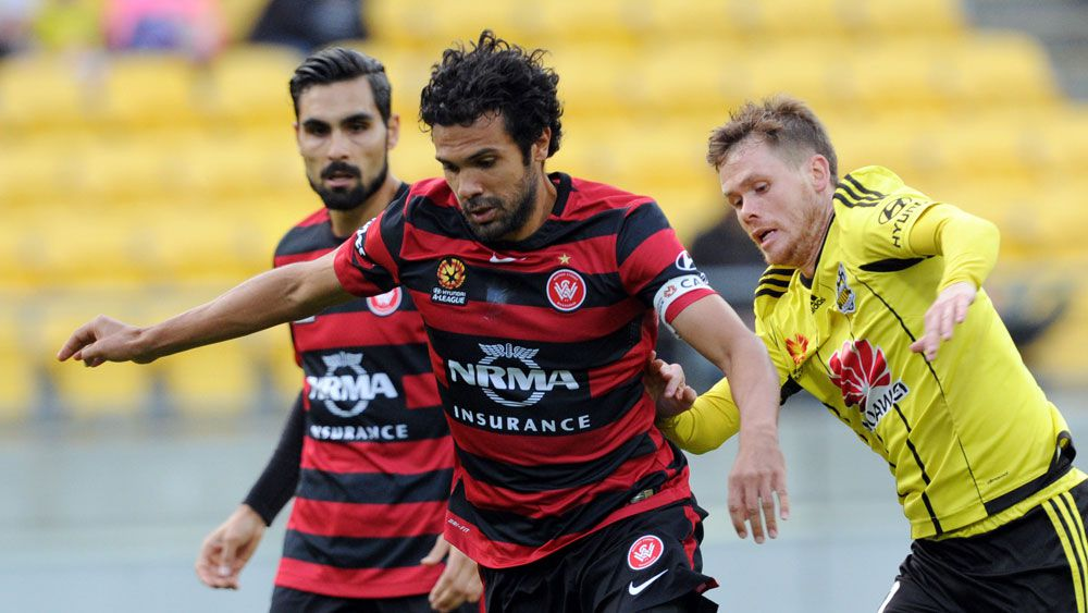 Nikolai Topor-Stanley appears to have played his final match for the Wanderers. (AAP)