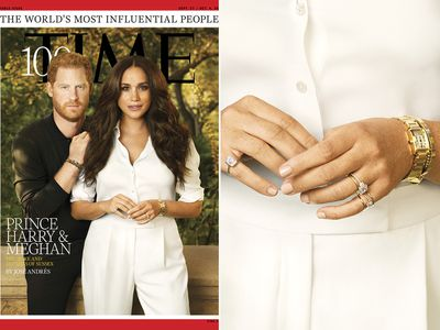 Meghan's jewels make the cover of TIME, September 2021