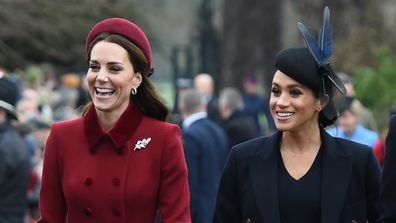 Kate waited until Meghan went home before she joined the royal hunt