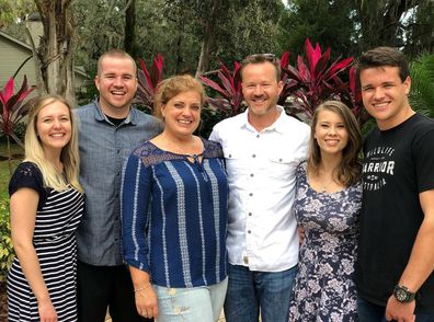 Bindi Irwin, Chandler Powell, family, dad Chris, mother Shannan, brother Cameron, sister-in-law Kristin