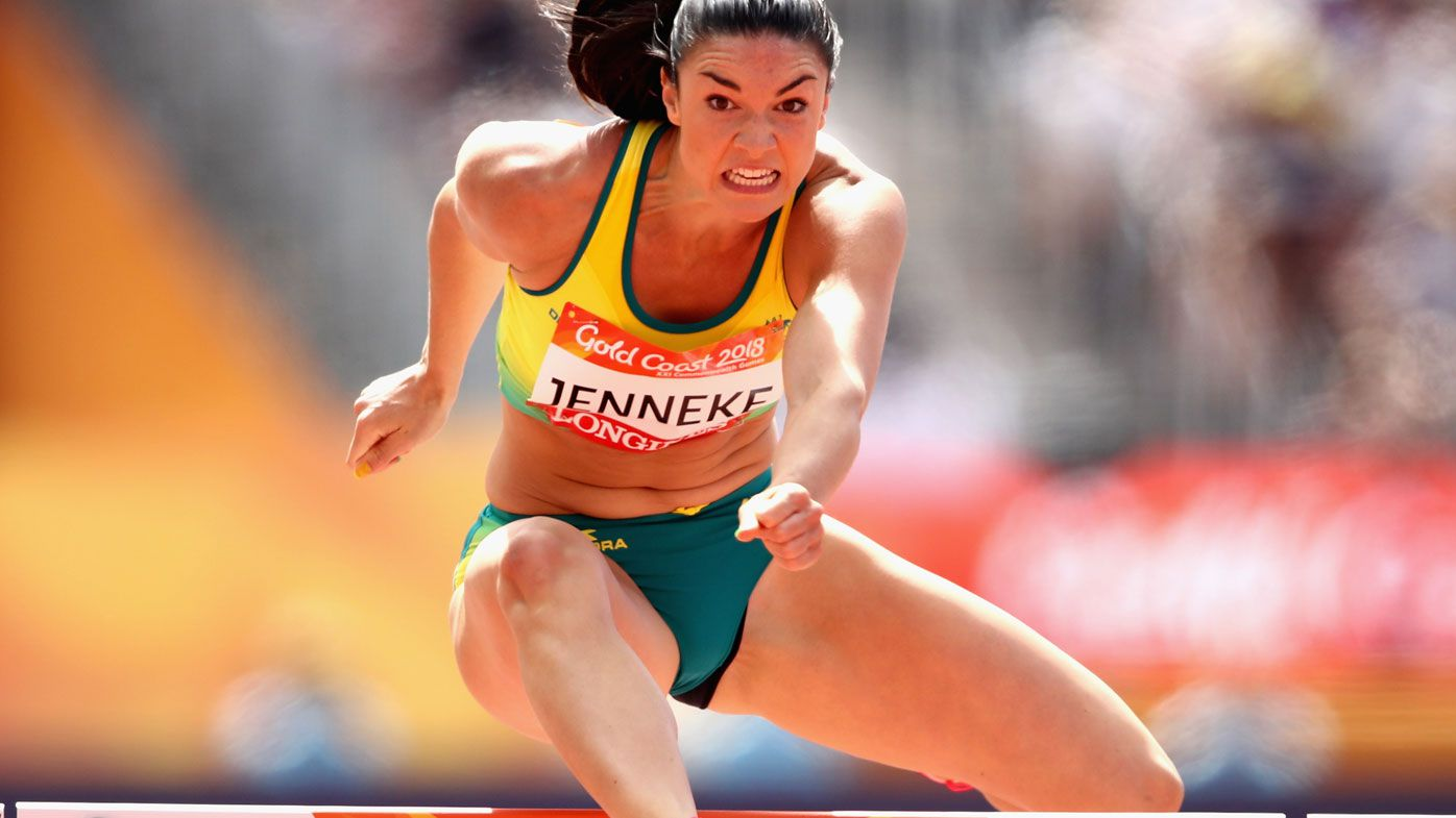 Michelle Jenneke finishes fourth in 100m hurdles heat