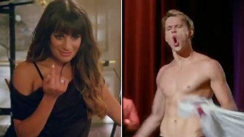 First <i>Glee</i> season five teaser: Sexy Lea Michele, no Cory Monteith