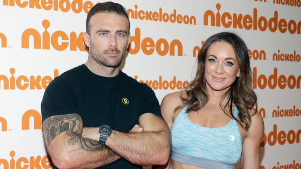 'Commando' Steve and partner Michelle Bridges. Proud parents and best mates too. Image: Getty.