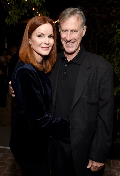 Marcia Cross and Tom Mahoney
