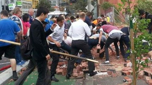 Subcontractor fined for fallen wall which killed three